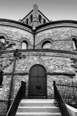 Tim Barnwell  -  Exterior, Circular Congregational Church, Charleston, SC  / Pigment Print  -  Available in Multiple Sizes