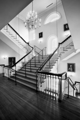 Tim Barnwell  -  Stairway, old Charleston County Courthouse, SC / Pigment Print  -  Available in Multiple Sizes