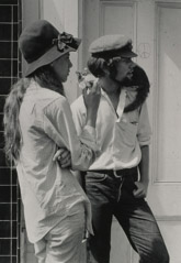 Ruth-Marion Baruch  -  Sailor Couple, Haight Ashubry, 1967 / Silver Gelatin Print  -