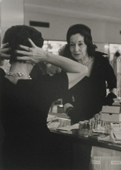 Ruth-Marion Baruch  -  Elegant Woman From the Front, 1961 / Silver Gelatin Print  -  11 x 14