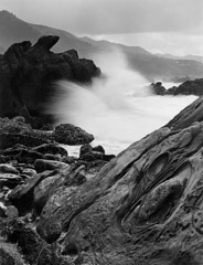 Wynn Bullock  -  Point Lobos Wave, 1958 / Pigment Print  -  Available in multiple sizes