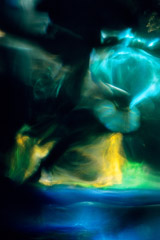 Wynn Bullock  -  Color Light Abstraction 1024, 1960-64 / Pigment Print  -  18 x 12
