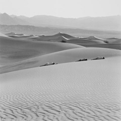 Edna Bullock  -  Three Nudes on Dunes 1990 / Pigment Print  -  available in multiple sizes