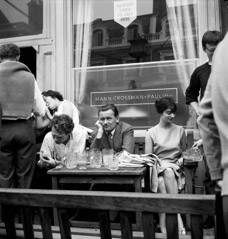 Mario DiGirolamo  -  Lost In Thought, Anglesea Free House, London 1955 / Silver Gelatin Print  -  Available in multiple sizes