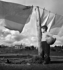 Mario DiGirolamo  -  Dreaming Of A Game, Rome Italy, 1958 / Silver Gelatin Print  -  Available in multiple sizes