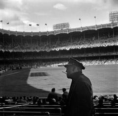 Mario DiGirolamo  -  At The Stadium, New York City, 1959  / Silver Gelatin Print  -  Available in multiple sizes