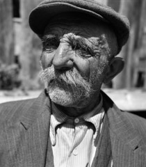 Mario DiGirolamo  -  Graceful Aging, Rome Italy, 1957 / Silver Gelatin Print  -  Available in multiple sizes