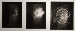 Harold Edgerton  -  Bullet Splash, 1938, 3 Prints Mounted to Board, 1960, 14.060 / Silver Gelatin Print  -  5 x 7 (each)