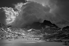 Peter Essick  -  Afternoon Thunderstorm, Garnet Lake, 2010 / Pigment Print  -  available in multiple sizes