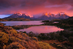 Peter Essick  -  Torres del Paine National Park, Patagonia, Chile / Pigment Print  -  available in multiple sizes