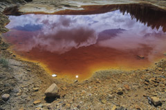 Peter Essick  -  Acid Mine Drainage, Colorado, 2000 / Pigment Print  -  available in multiple sizes