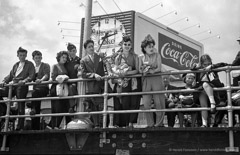 Harold Feinstein  -  Coke Sign on the Boardwalk, 1949 / Silver Gelatin Print  -  available in multiple sizes