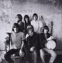 Herb Greene  -  Jefferson Airplane / Silver Gelatin Print  -  15 x 15