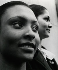John Gutmann  -  A Two Students of Spelman College, Atlanta, 1937 / Silver Gelatin Print  -  11x14