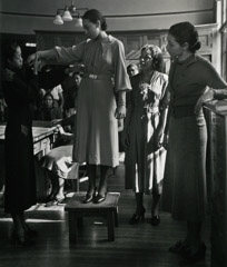 John Gutmann  -  Fashion Class at Spelman College, Atlanta, 1937 /   -  11x14