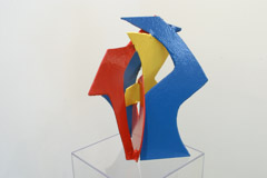 David Hayes  -  Small Sculpture, 2007 / Painted Steel  -  18 x 15 x 13