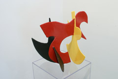 David Hayes  -  Small Sculpture, 2006 / Painted Steel  -  15 x 18 x 12