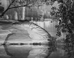 Philip Hyde  -  Escalante River Near Willow Canyon, Glen Canyon, Utah, 1964 / Pigment Print  -  11 x 14