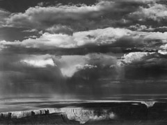 Philip Hyde  -  Thunderstorm Over Navajo Country, Grand Canyon National Park, Arizona, 1963 / Pigment Print  -  16 x 20