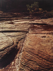 Philip Hyde  -  Stream in the Maze, Canyonlands, Utah, 1976 / Dye Transfer Print (vintage)  -  11 x 14