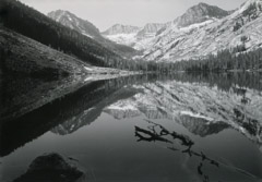 Philip Hyde  -  East Lake, Kings Canyon National Park, CA, 1952 / Silver Gelatin Print  -  8 x 10