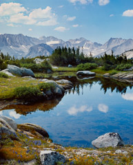 Philip Hyde  -  Pioneer Basin, Fourth Recess, John Muir Wilderness, California, 1970 / Pigment Print  -  Available in multiple sizes