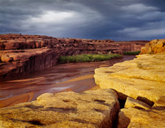 Philip Hyde  -  Stormlight, Canyon De Chelly National Monument, Arizona, 1963 / Pigment Print  -  16 x 20