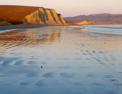 Philip Hyde  -  Drake's Beach, Point Reyes National Seashore, California, 1972 / Pigment Print  -  Available in multiple sizes