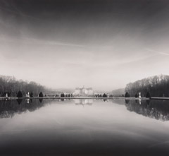 Michael Kenna  -  Reflections, St. Roy 2, France, 96/96 - 4/45 / Silver Gelatin Print  -  8x7.5