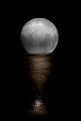 -  Lumination On The Water / Pigment Print  -  30x20 or 36x24