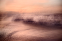 Jon Kolkin  -  Wave on Orange, 2008 / Pigment Print  -  20x30 or 24x36