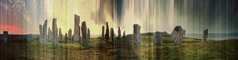 Stephen Lawson  -  Callanish Stone Circle from the N.W. / Chromogenic Print  -  12.5 x 30