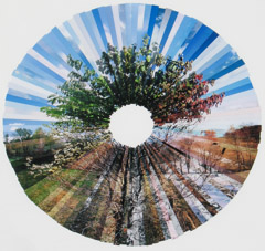 Stephen Lawson  -  Circle of the Seasons, 1989-1990 / Chromogenic Collage  -  30 x 35