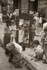 Helen Levitt  -  Mirror, New York /   -  12 x 7.75