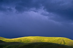 Tom Murphy  -  Sunset Ridge and Blue Clouds / Color Pigment Print  -  Available in multiple sizes