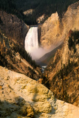 Tom Murphy  -  Lower Yellowstone Falls / Color Pigment Print  -  Available in multiple sizes