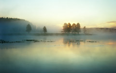 Rex Naden  -  River with Fog, 2007 / Pigment Print  -  Available in Multiple Sizes