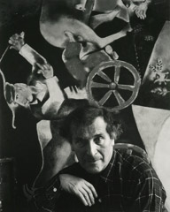 Arnold Newman  -  Marc Chagall, New York City, NY, 1941 / Silver Gelatin Print  -  12.25 x 10 (16 x 20)