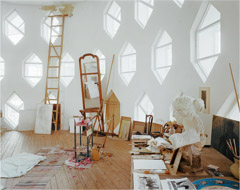 Richard Pare  -  Melnikov House, Moscow / Chromogenic Print  -  16 x 20