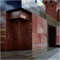 Richard Pare  -  Lenin Mausoleum, 1998 / Chromogenic Print  -  11 x 14