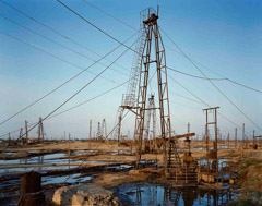 Richard Pare  -  Baku Oil Field / Pigment Print  -  Available in Multiple Sizes