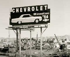 Rondal Partridge  -  New Chevy, Emeryville, CA, 1964 / Silver Gelatin Print  -  14 x 18
