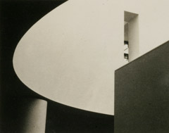 Rondal Partridge  -  Architectural View, SF MoMA, 1996 / Platinum Palladium  -  5 x 7