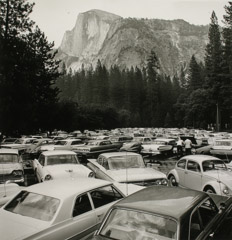 Rondal Partridge  -  Pave It and Paint It Green, Yosemite National Park, 1960's / Silver Gelatin Print  -  10.5 x 10.25