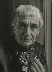 Rondal Partridge  -  Dorothea Lange at Home, 1960's /   -  9.75 x 7.25