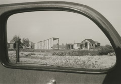 Rondal Partridge  -  Road Views, circa 1930's / Silver Gelatin Print  -  4.75 x 7