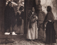 Paul Strand  -  Women of Santa Anna, Michoacan, 1933 / Photogravure  -