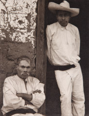 Paul Strand  -  Men of Santa Anna, Michoacan, 1933 / Photogravure  -