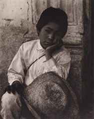 Paul Strand  -  Boy, Uruapan, 1933 / Photogravure  -
