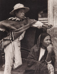 Paul Strand  -  Woman and Boy, Tenancingo, 1933 / Photogravure  -